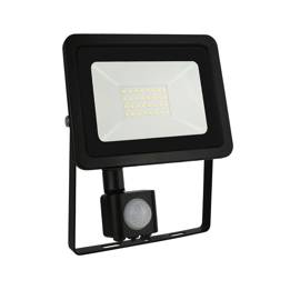 NOCTIS LUX 2 SMD 230V 30W IP44 NW BLACK WITH SENSOR