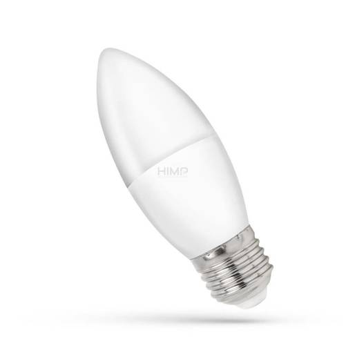 LED ŚWIECOWA E-27 230V 8W WW SPECTRUM